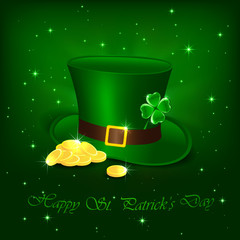 Patrick day hat