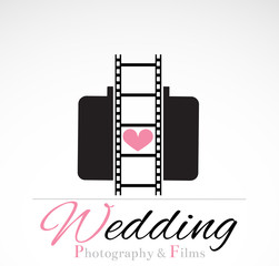 Wedding photography VECTOR design.