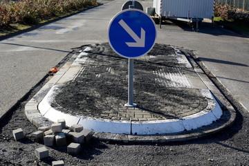 Neuer barrierefreier Fußgängerüberweg