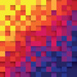 Pixel color abstract background