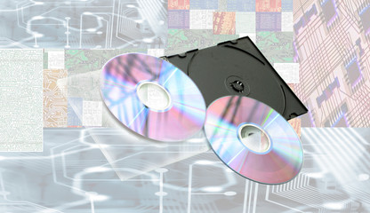 Compact disks and chips