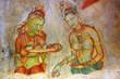 Fresco in Sigiriya