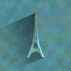 Eiffel Tower. Vector format