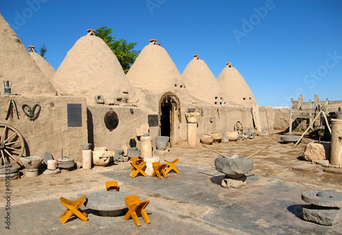houses of the ancient city of Harran, Turkey