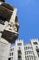 Via Laietana, Barcelona, Espagne