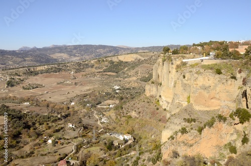 View of Ronda countryside, Andalusia