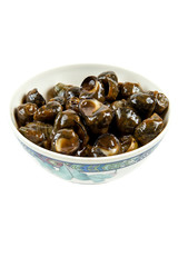 Snails in Black Bean sauce