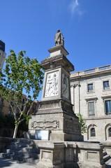 Monument commémoratif, Barcelone