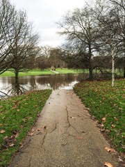 Flooding in Hyde Park
