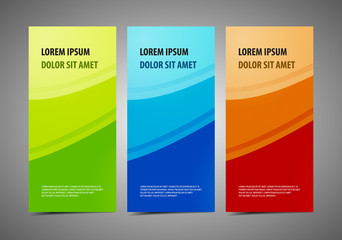 Abstract professional and designer cards