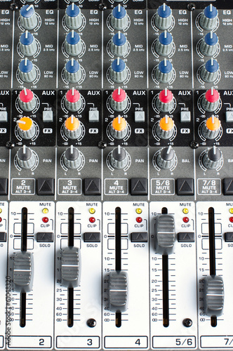 Sound engineering controls