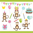 Monkey Birthday Party