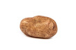One potato isolated on white
