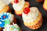 Cupcake dolce decorato
