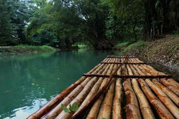 Jamaican rafting