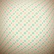 Retro dot vector seamless pattern (tiling). Endless texture