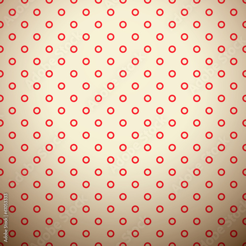 Retro dot vector seamless pattern (tiling). Endless texture