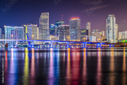 Miami Florida Skyline