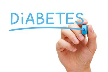 Diabetes Blue Marker