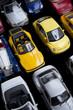 Voiture, jeu, jouet, collection, embouteillage, miniature