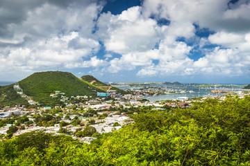 Philipsburg, Sint Maarten Townscape