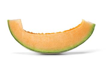 Slice of cantaloupe