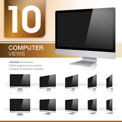10 Computer Views - Realistic