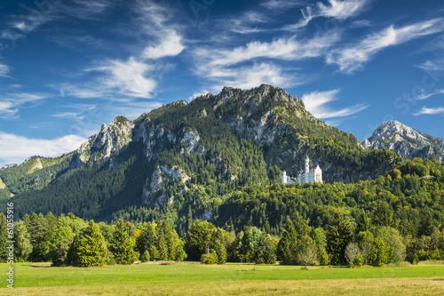 Alpy Bawarskie Niemiec