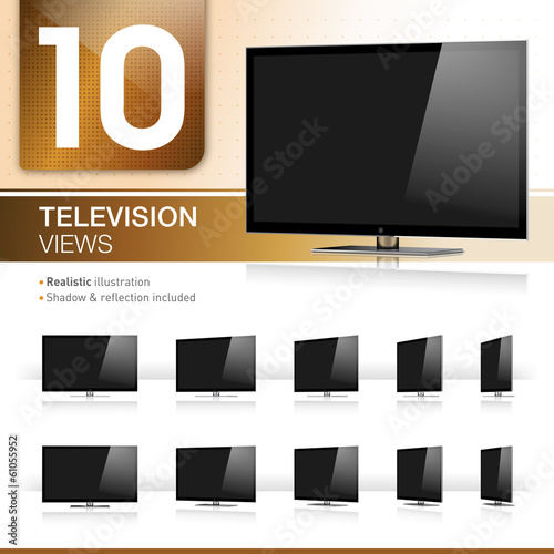 10 TV Views - Realistic