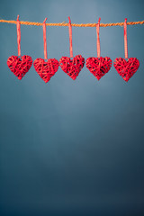 decorative valentine hearts
