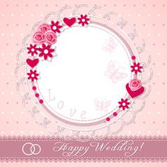 congratulation wedding card