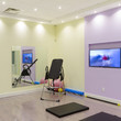 Gym Interior Design at the Clinic