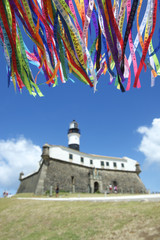 Barra Salvador Brazil Lighthouse Wish Ribbons