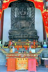 Zhouzhuang Quanfu temple Buddha.