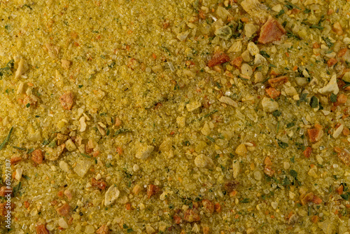 Spices Vegeta Close Up Canvas Print