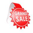 Grand sale star label