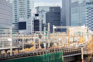 railway in tokyo