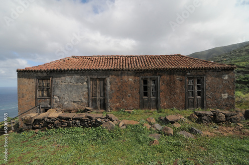 Brown Ancient Rural House