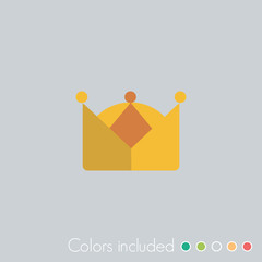 Crown - FLAT UI ICON COLLECTION