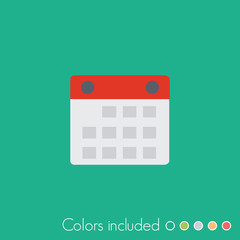 Calendar- FLAT UI ICON COLLECTION