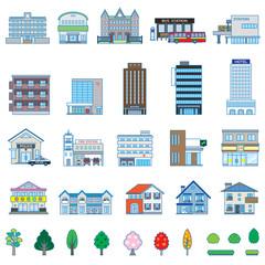 いろいろな建物