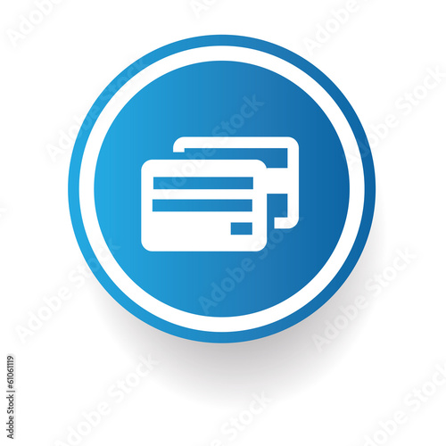 Credit card sign,vector