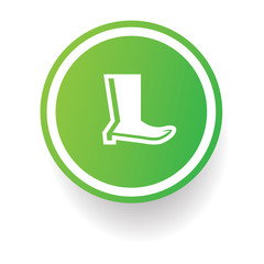 Shoes symbol,vector