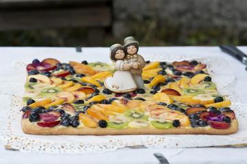Decoration on a Wedding Cake