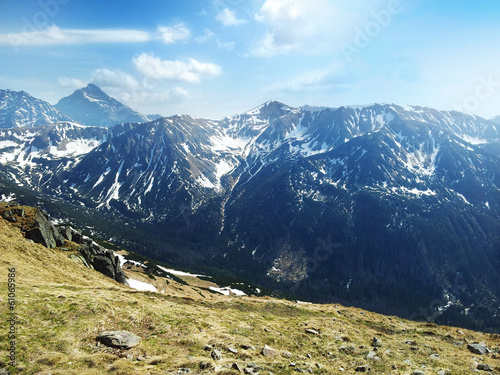 The Tatra Mountains in Poland