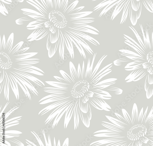 Seamless sunflower wallpaper