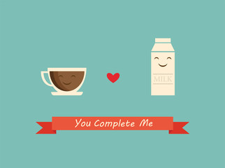 coffee and milk best friends