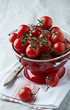 Cherry Tomatoes in a Colander