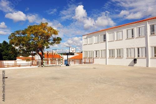 Fotobehang Stadion The schoolyard