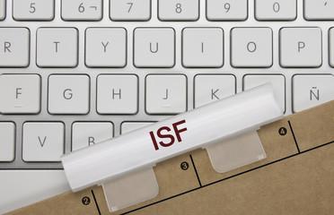 ISF (impôt sur la fortune). Clavier